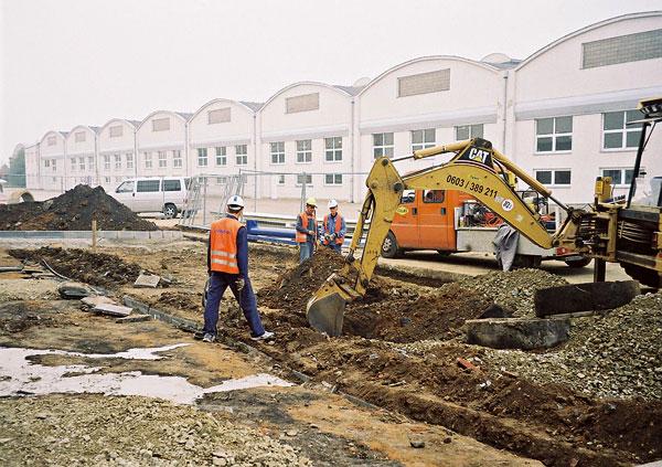 Bezpečná práce se stavebními stroji