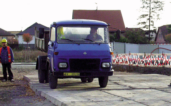 Bezpečná přeprava stavebních materiálů