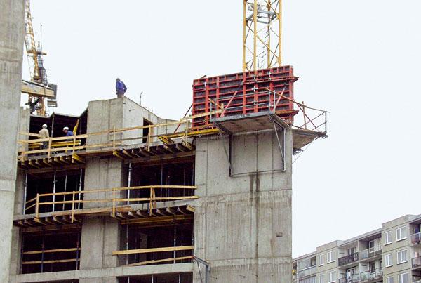 Bezpečnost při práci ve výšce a vokolí stavby