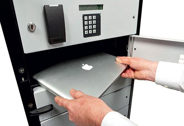Bezpečnost v kancelářích: Inteligentní klíčové trezory