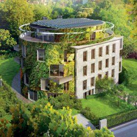 Bubeneč Gardens: Inteligentní bydlení s vertikální zahradou