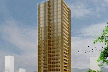 Budoucností jsou dřevěné mrakodrapy