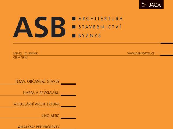 Časopis ASB 3/2012 v prodeji