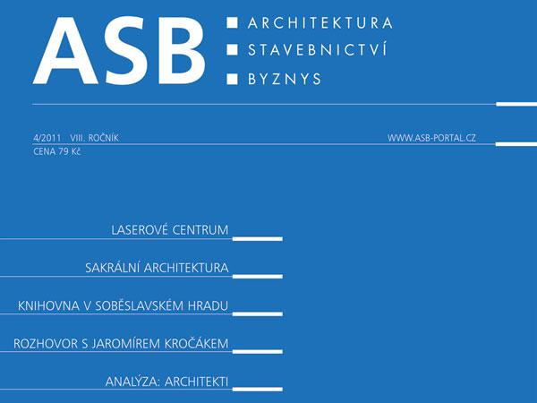 Časopis ASB 4/2011 v prodeji