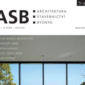 Časopis ASB 5/2012 v prodeji