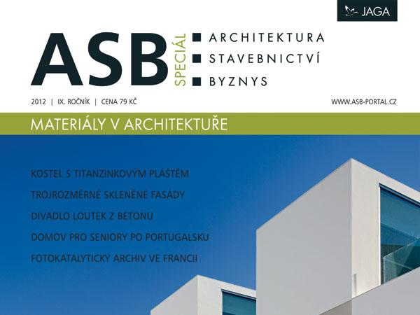 Časopis ASB speciál 2012 v prodeji