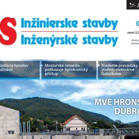 Časopis Inžinierske stavby/Inženýrské stavby 6/2012 v prodeji