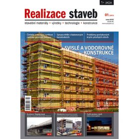 Časopis Realizace staveb 1/2013 v prodeji