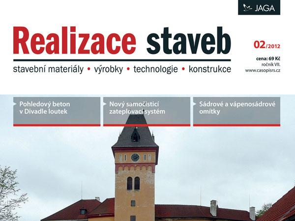 Časopis Realizace staveb 2/2012 v prodeji