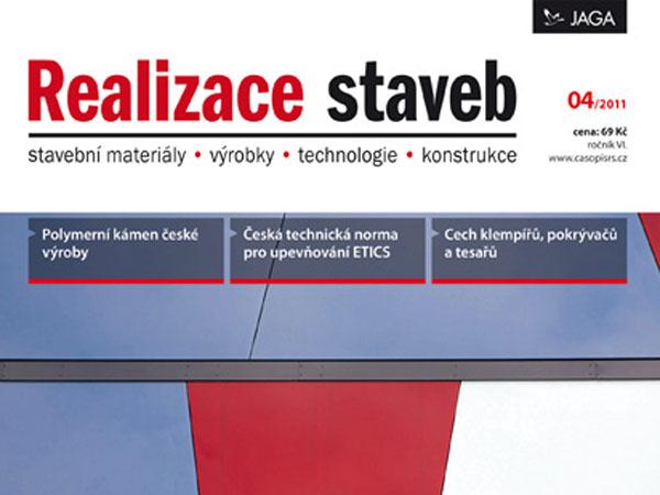 Časopis Realizace staveb 4/2011 v prodeji