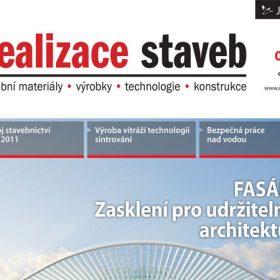 Časopis Realizace staveb 4/2012 v prodeji
