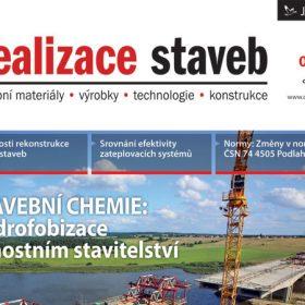 Časopis Realizace staveb 5/2012 v prodeji