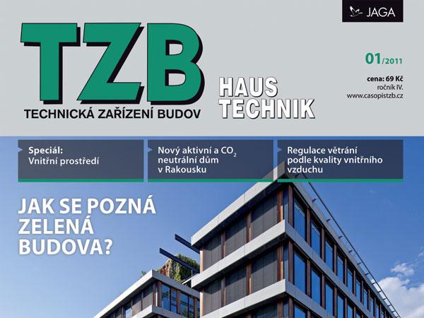 Časopis TZB HAUSTECHNIK 1/2011 v prodeji