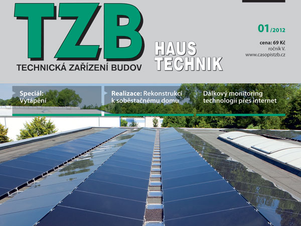 Časopis TZB HAUSTECHNIK 1/2012 v prodeji
