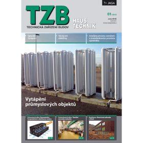 Časopis TZB HAUSTECHNIK 1/2013 v prodeji