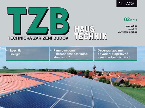 Časopis TZB HAUSTECHNIK 2/2011 v prodeji