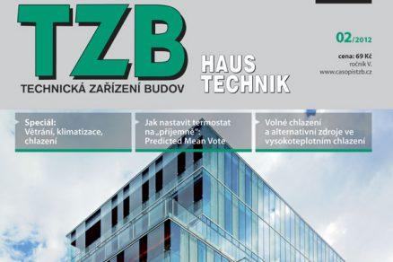 Časopis TZB HAUSTECHNIK 2/2012 v prodeji