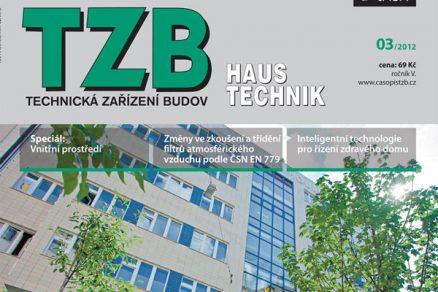 Časopis TZB HAUSTECHNIK 3/2012 v prodeji