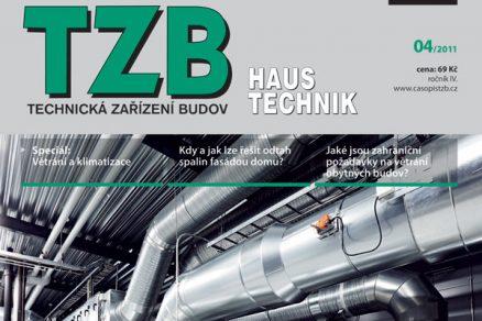Časopis TZB HAUSTECHNIK 4/2011 v prodeji