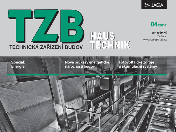 Časopis TZB HAUSTECHNIK 4/2012 v prodeji