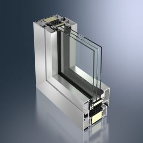 Celosvětově první okenní profil z hliníku s certifikátem pro pasivní výstavbu