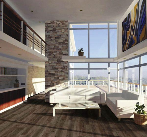 Celovinylová plovoucí krytina pro bytové prostory