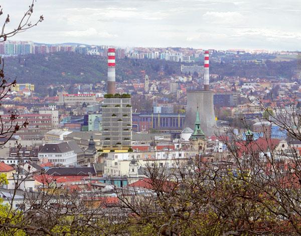 Centrum Brno a spor o výšku
