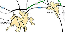 Dálnice D1 se jedenácti kilometry přiblíží k Přerovu