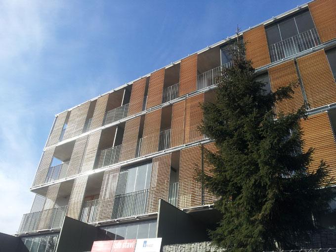 Dokončený bytový dům Pod Ladronkou