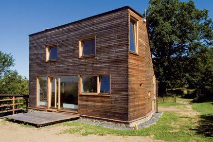 Dom v Hoštičkách z dílny New Work