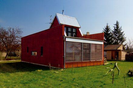 Dřevěný dům z dílny New Work
