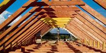 Dřevěný krov