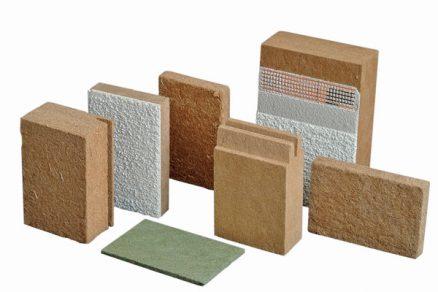 Dřevovláknité nelisované desky