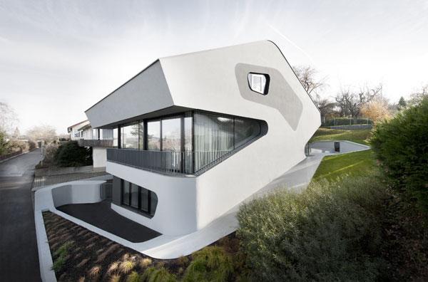 Dům ve tvaru dinosaura