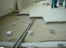 Duté podlahy v bytovém a administrativním komplexu v Olomouci