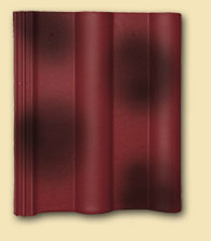 Dvoubarevná povrchová úprava střešní krytiny