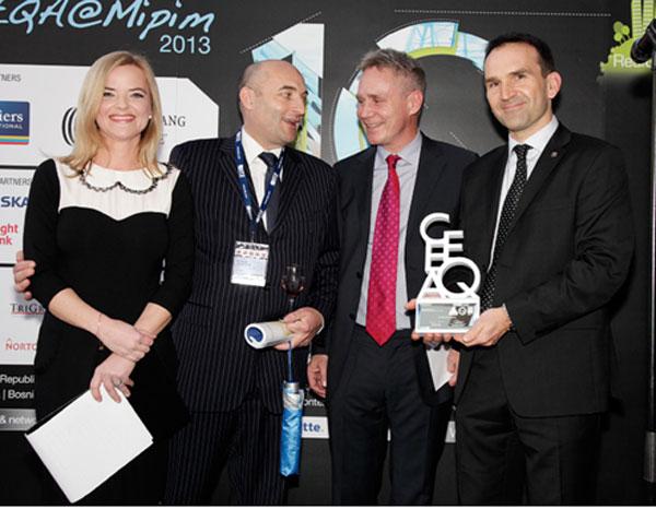 EC HARRIS vyhrálo cenu Real Green Service Provider roku 2012