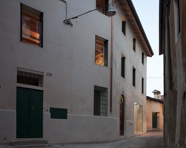 Ekologicky šetrné bydlení v historické budově – Casa Ceschi
