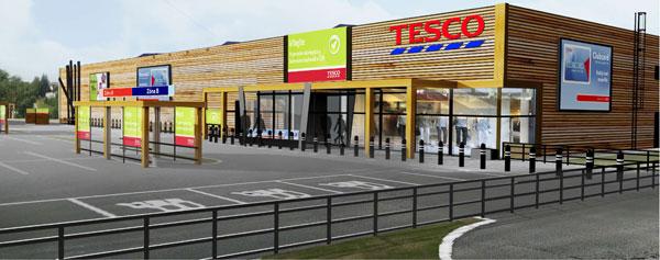Ekologicky šetrný hypermarket s nulovou uhlíkovou stopou