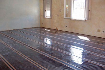 Elektrické topné fólie ajejich použití na podlahu istrop