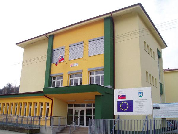 Energetická hospodárnost obnovené základní školy