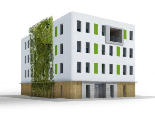 Energeticky pasivní kanceláře v Ostravě