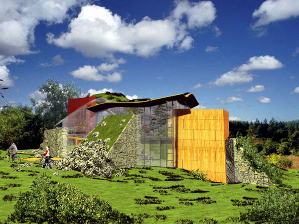 Environmentálně vyspělá stavba – školicí centrum Pikovice