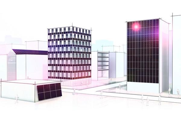 Fasádní moduly ProSol TF s tenkovrstvou fotovoltaikou