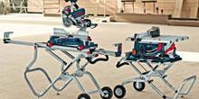 Flexibilní pojízdné stoly pro stacionární pily