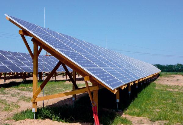 Fotovoltaická elektrárna v Hodonicích u Znojma