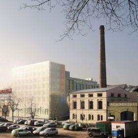High-tech kancelářský komplex Vision Park Karlín