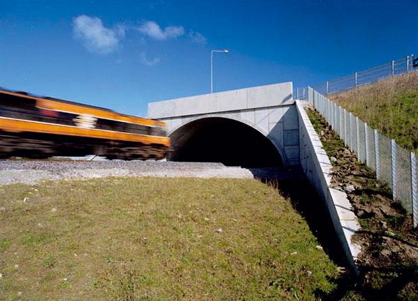 Hloubené přesýpané tunely 1.
