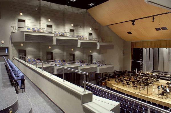 Hradecká Filharmonie po rekonstrukci