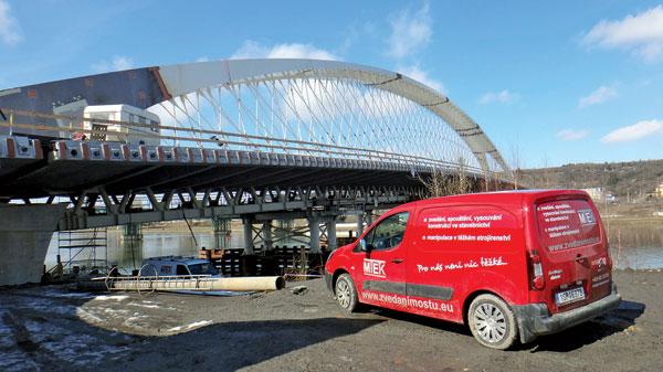 Hydraulika pro stavbu Trojského mostu III